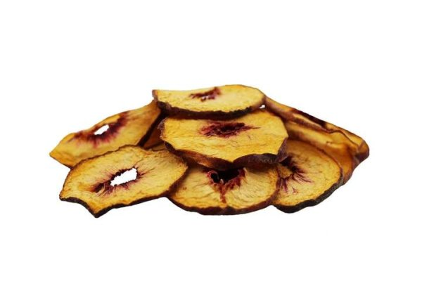 Getrocknete Pfirsichringe naturbelassen