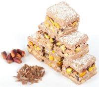 Turkish Delight Baklava-Schokolade mit Pistazie und...