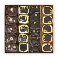 Turkish Delight Brownie Selection