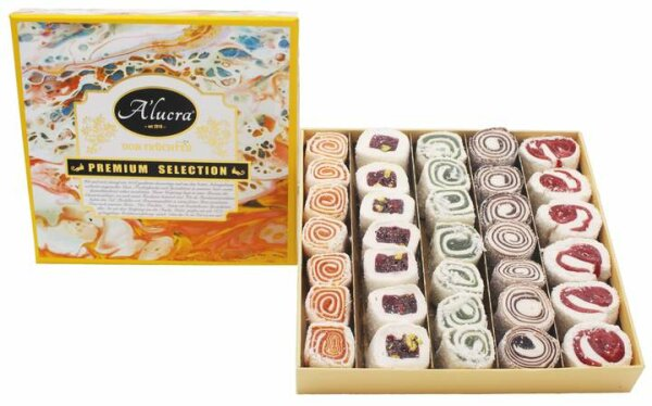Turkish Delight White Selection